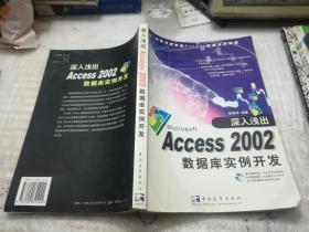 深入浅出Access2002数据库实例开发