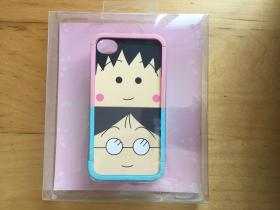 iPhone 4 手机壳 塑料材质   (樱桃小丸子)