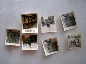 老照片一堆卖,共7张----尺寸是2到4寸左右