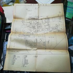 50-60年代清华大学平面图【4开大】