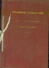 工程科学数据集(化工辑)传热分辑 第1卷 英文版 具体书名见图片