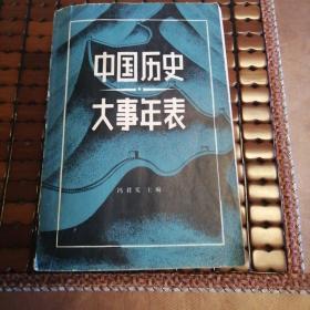 中国历史大事年表(超厚本)