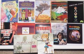 Heinemamm,Houghton Mifflin,Steck Vaughn出版儿童看世界 百科知识 英文版11本一套