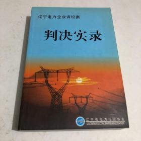辽宁电力企业诉讼案判决实录
