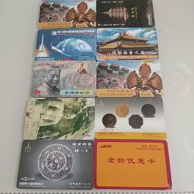 磁卡门票(每张五元。未使用,可以单要)