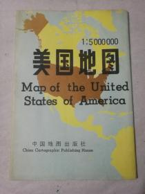 美国地图一开1989