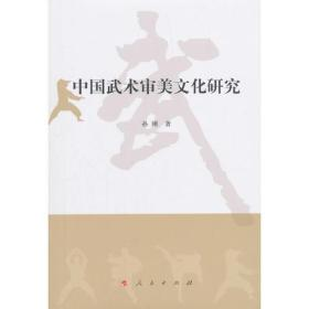 中国武术审美文化研究