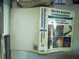 EFFECTIVE  BUSINESS COMMUNICATIONS  SIXTH EDITON