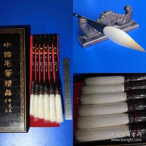 八九十年代老湖笔,杭州邵芝岩,细嫩光锋
