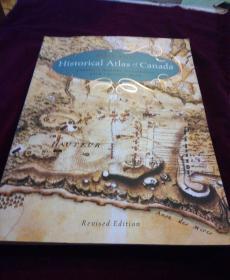 DEREK,HAYES;Historical,Atlas,of,Canada加拿大地图【有一个角磕了点】