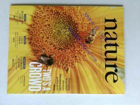 自然原版外文杂志期刊 nature 506 261-402 2014/02/20 no.7488