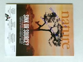 自然原版外文杂志期刊 nature 506 1-126 2014/02/06 no.7486