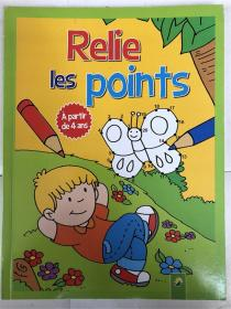 平装 relie les points a partir de 4 ans  从点到点 法语