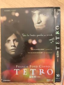 美国 弗朗西斯·福特·科波拉 Francis Ford Coppola 泰特罗 Tetro (2009) 文森特·加洛 Vincent Gallo DVD