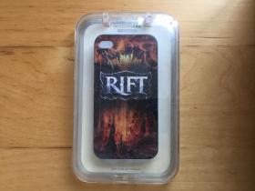 iPhone 4 手機殼 塑料材質浮雕  (RIFT)