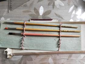 北京李福寿油油画笔二只31长度一只29长度