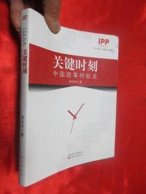 关键时刻——中国改革何处去    【小16开】