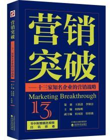 营销突破:十三家知名企业的营销战略
