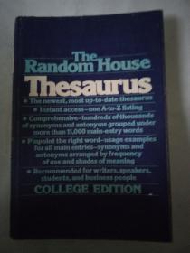 THE RANDOM HOUSE THESAURUS兰登英语同义词词典