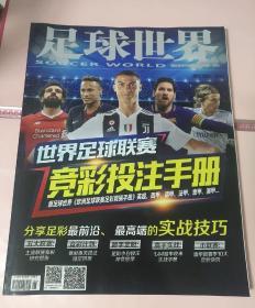 足球世界 增刊 世界足球联赛  竞彩投注手册.