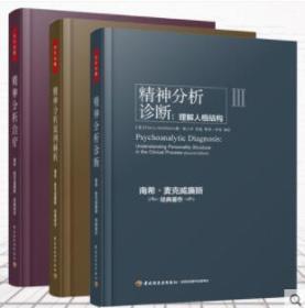 万千心理精神分析案例解析+精神分析治疗实践指导+诊断 理解人格结构全3册 南希·麦克威廉斯同弗洛伊德文集精神分析引论