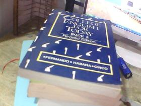 COLLEGE ENGLISH FOR TODAY    BOOK2