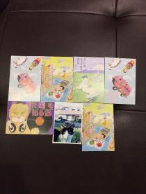 猫主题卡片7张