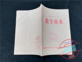 河北省中学试用数学用表