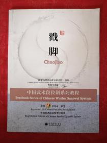正版现货:戳脚-中国武术段位制系列教程(配原版光盘2张)