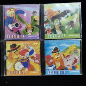 DVD光盘 特别车队 全套一二三四 1234合售未拆封