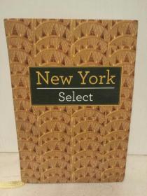 纽约指南 New York Select (旅行)英文原版书