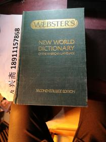 WEBATERS  NEW WORLD DICTIONARY