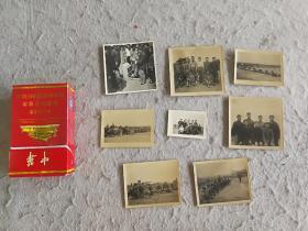 文革民兵训练照片9张
