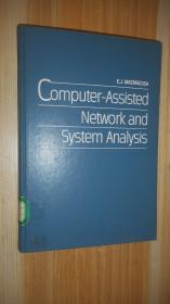 Computer -Assisted Network and System Analysis 英文原版精装 十六开