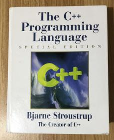 The C++ Programming Language, Special Edition, Third Edition C++程序设计语言 0201700735 9780201700732