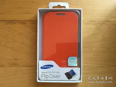 三星Galaxy S III 手机壳 仿皮革材质   (橘色)