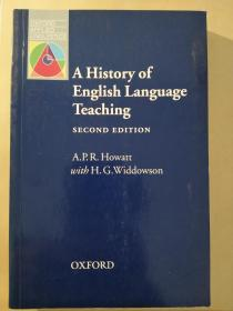 A History of English Language Teaching: Second Edition