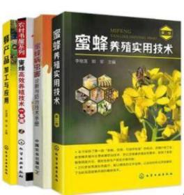 养蜂书籍 蜜蜂养殖实用技术(第2版) +蜜蜂病虫害诊断与防治技术手册+蜜蜂高效养殖技术+蜂产品加工与应用 蜜蜂养殖技术大全书籍