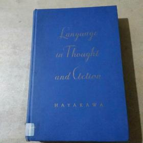 LANGUAGE in Thought and Action(精装英文原版)1949年版