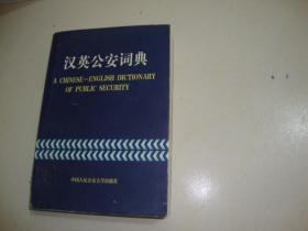 汉英公安词典