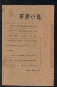 大泽乡——茅盾小说