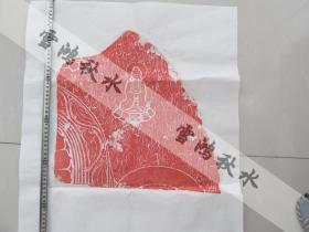 青州——佛像拓片