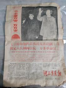 1968年3月13日 湖北农民报 第九十二期