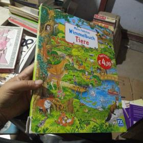 Mein liebstes Wimmelbuch Tiere