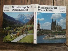 德国原版风景老画册,有不少教堂和城堡照片,包快递。