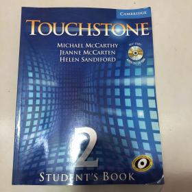 Touchstone Level 2 Students Book with Audio CD/CD-ROM [With CDROM and CD]