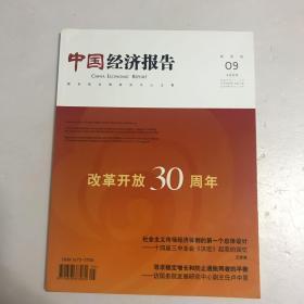 中国经济报告 2008年第9期
