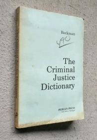外文版The Criminal Justic Dictonary