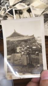 日本老照片 天官寺 (照片里文字是天官寺,应该是在中国拍摄)