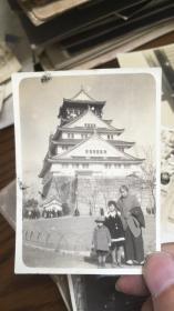 日本老照片 大坂城